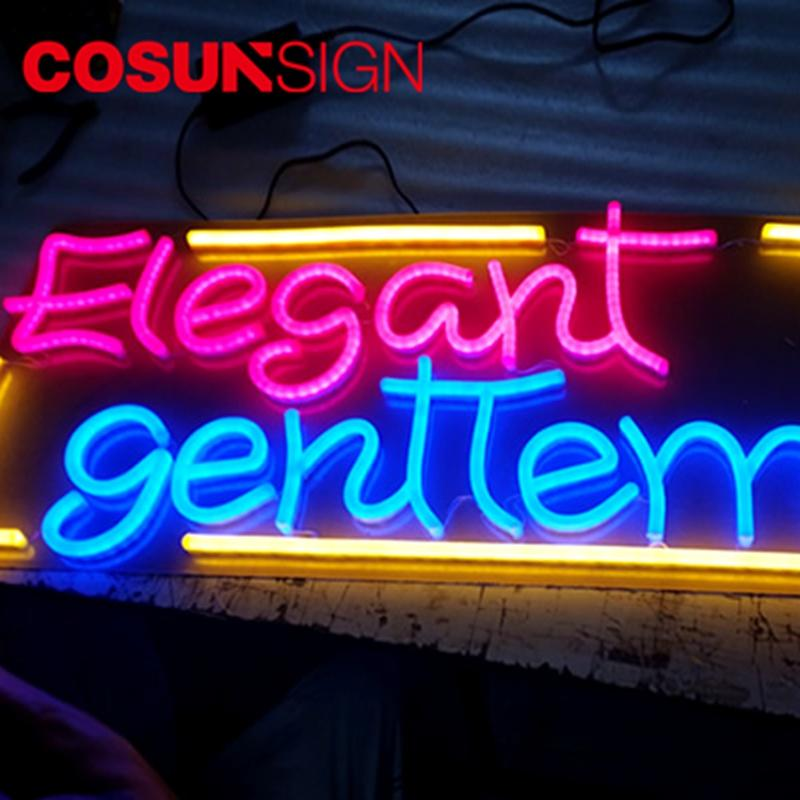 COSUN eye-catching led neon letters Supply for warning-2