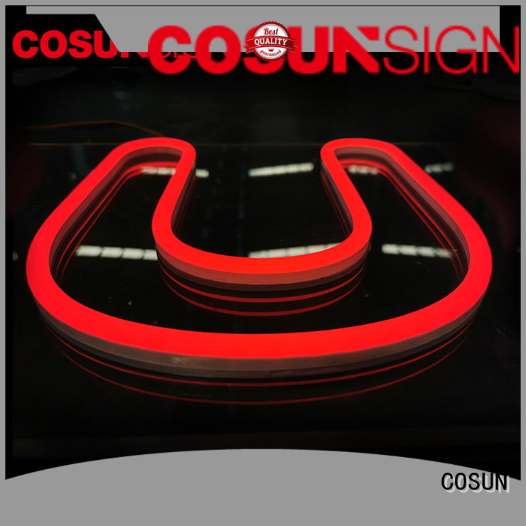 COSUN hot-sale large signs Suppliers for hotel