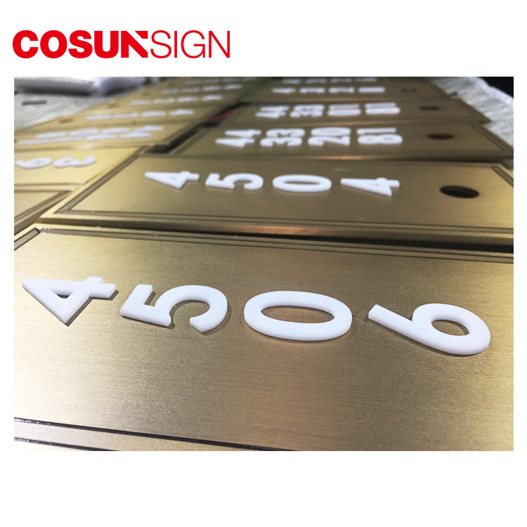 COSUN Best door signs perth factory for warning-2