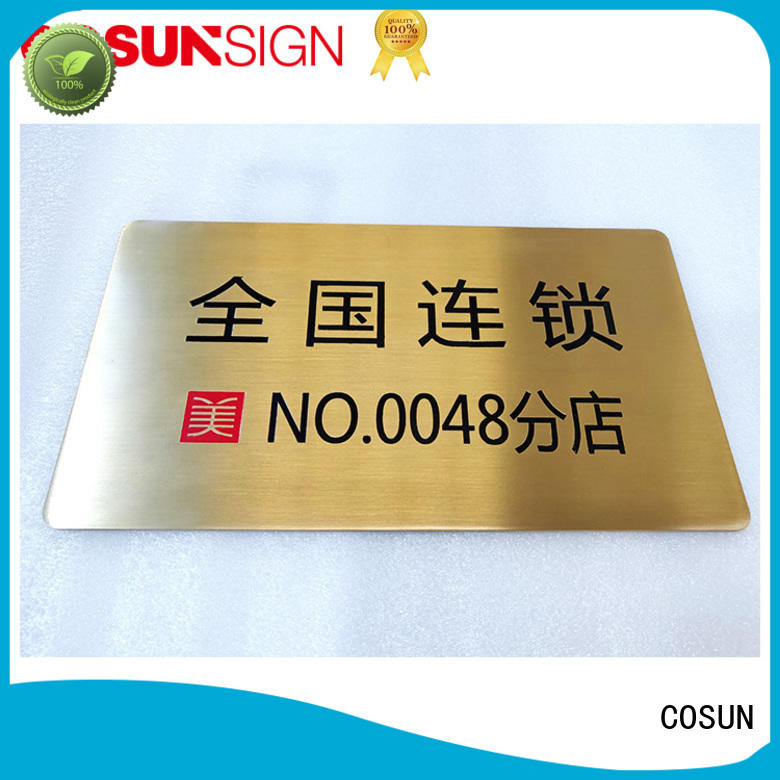 Top sign company all size manufacturers house decoration