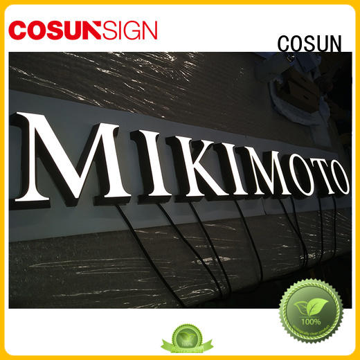 Top acrylic sign with standoffs cheapest price inquire now