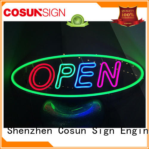 COSUN on-sale lighted home bar signs manufacturers for decoration