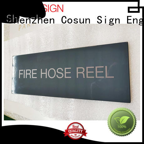 Wholesale interchangeable office sign name plates all size manufacturers for decoration