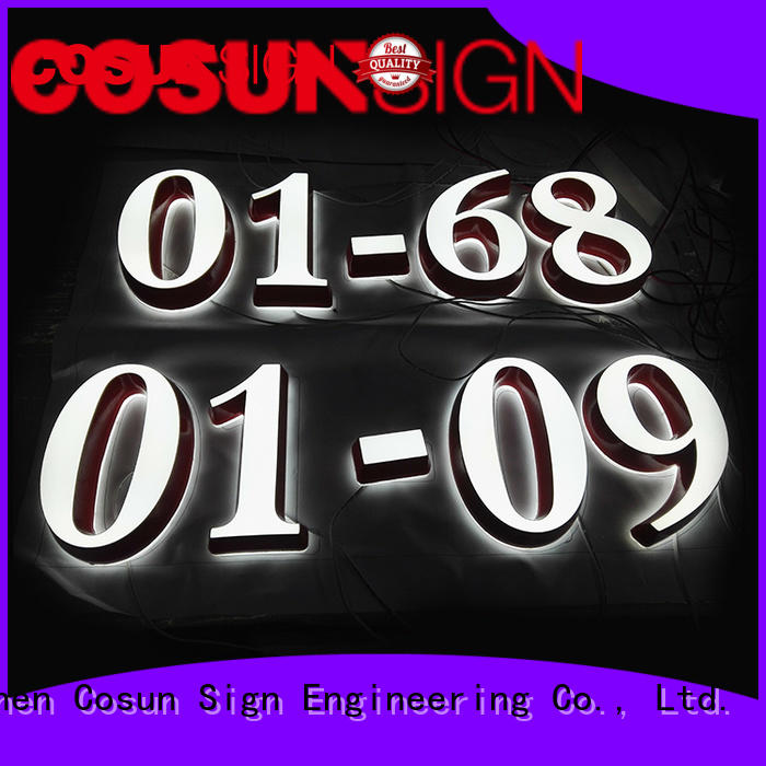 COSUN plastic 3x5 acrylic sign holders free sample for restaurant
