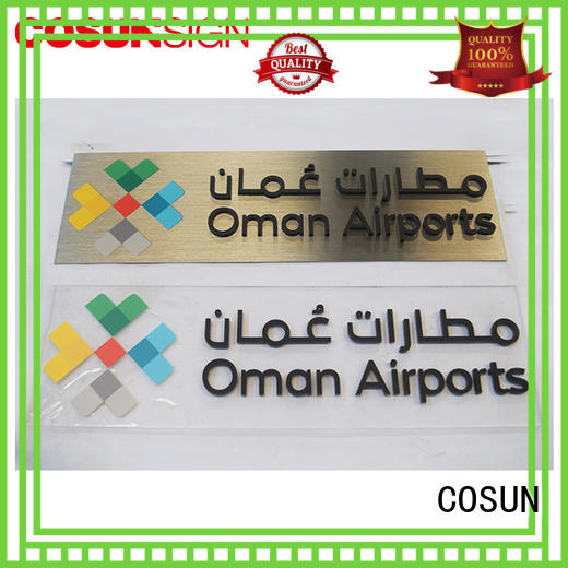 COSUN acrylic how to make a door sign for your room for business for decoration