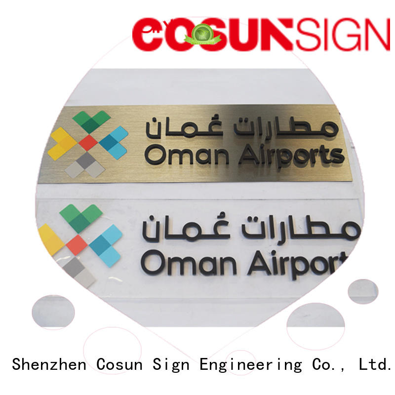 COSUN all size funky door signs Suppliers for warning