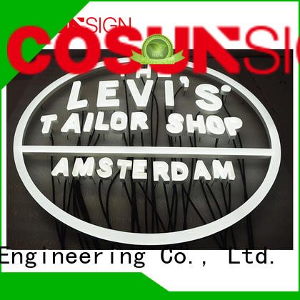 COSUN hot-sale outdoor signs Supply check now