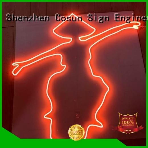 COSUN Latest neon wall lights for sale factory for promoting