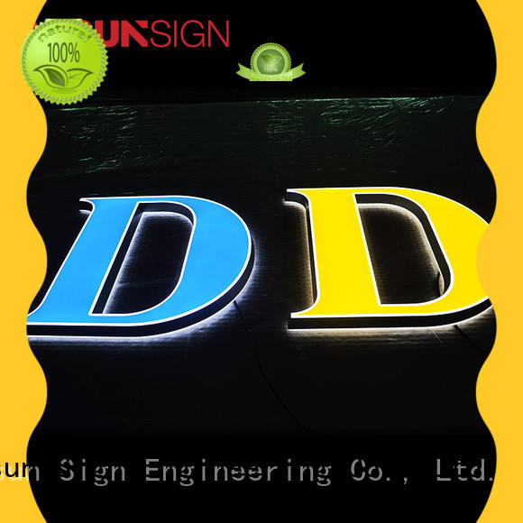COSUN plastic custom acrylic wall signs at discount inquire now