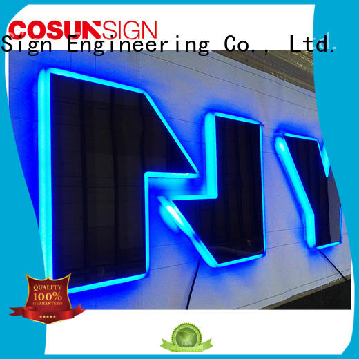 COSUN cheapest price acrylic desk sign holder factory for shop