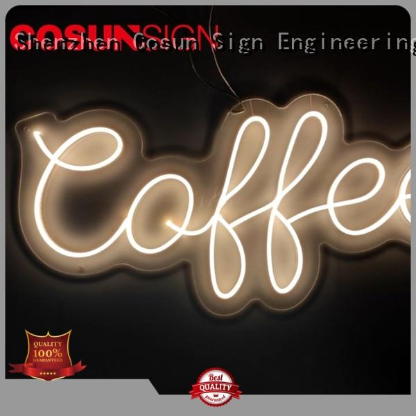 New neon light wall art on-sale for business for promoting