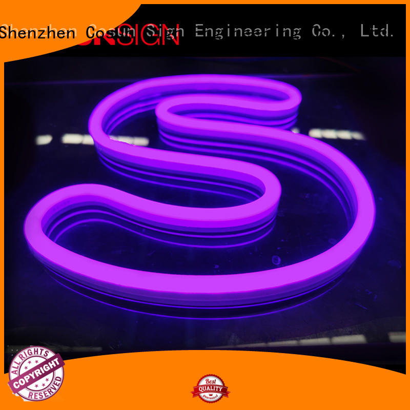 Custom neon light bar signs hot-sale factory for hotel