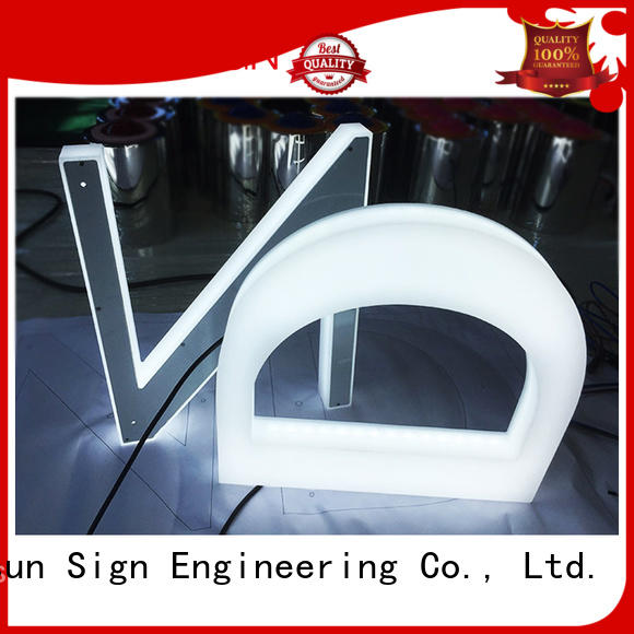 COSUN Top clear acrylic wall mount sign holders company for shop