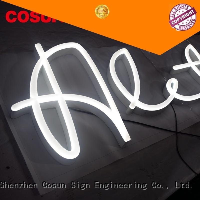 Top custom made neon signs hot-sale for business for restaurant