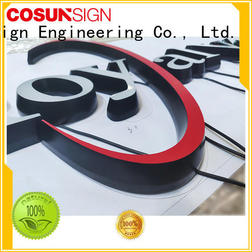 COSUN cheapest price 8 x 11 acrylic sign holder new for shop