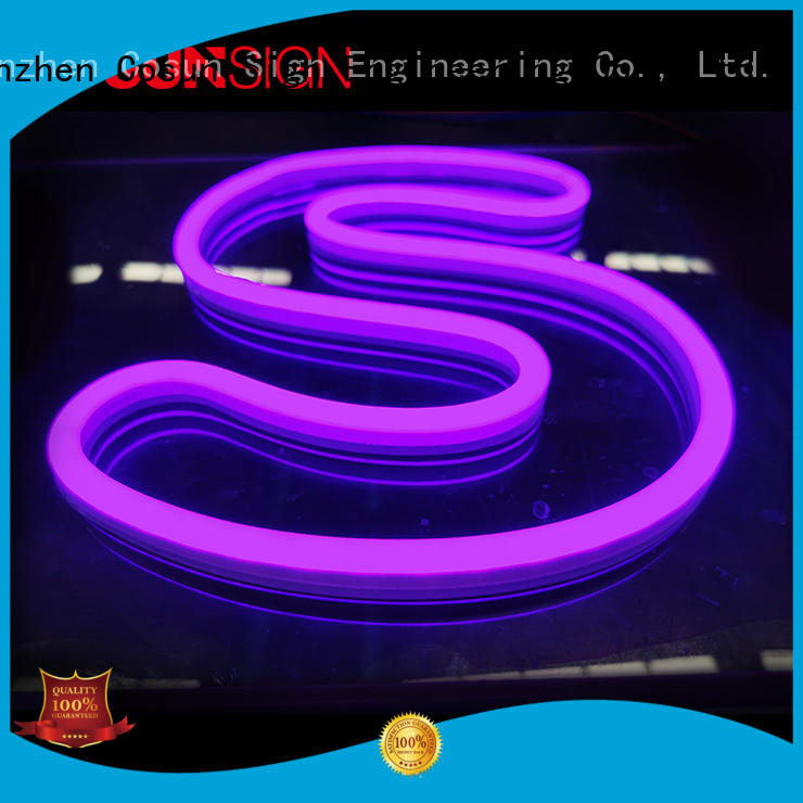 COSUN Wholesale custom fluorescent light signs factory