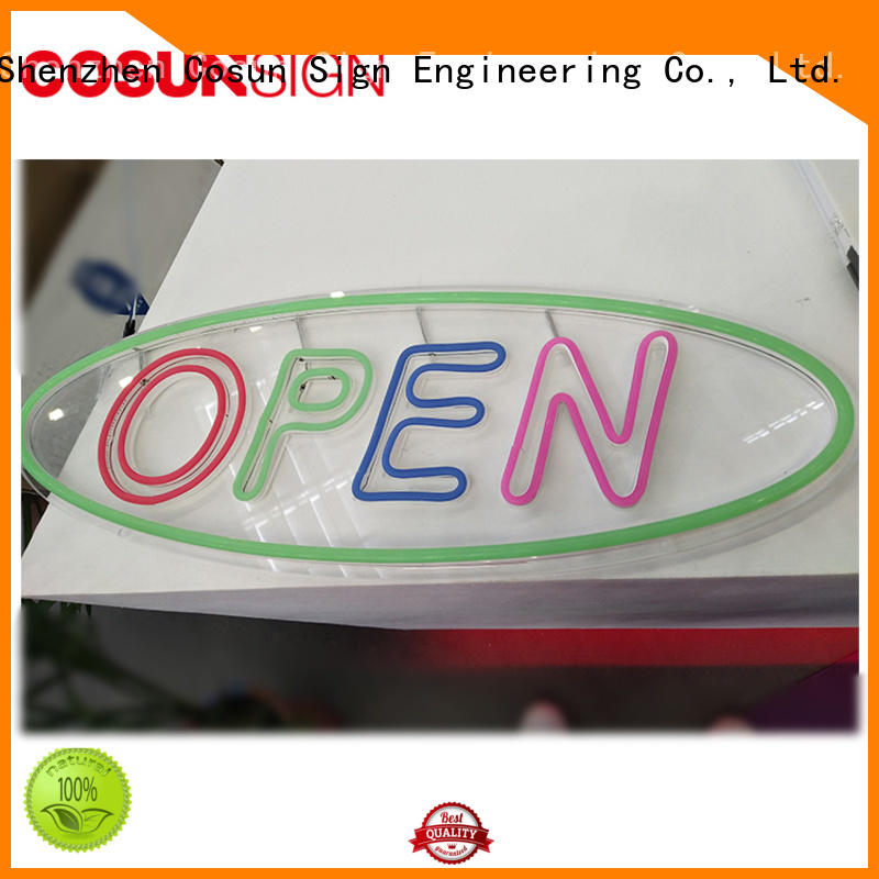 COSUN hot-sale marquee sign Suppliers for decoration