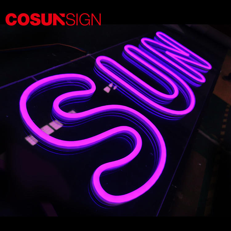 COSUN on-sale neon word lights for sale factory for warning-2