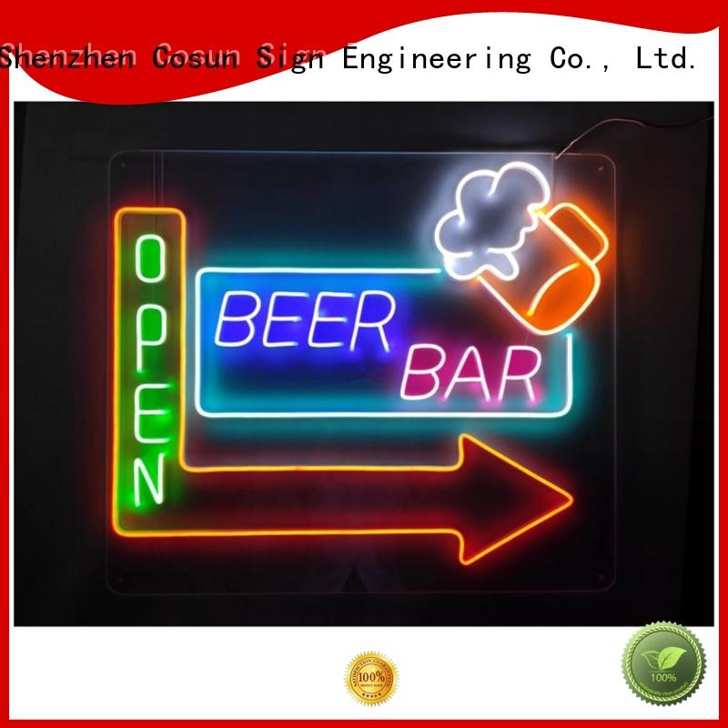 COSUN on-sale cool neon signs for sale manufacturers for decoration