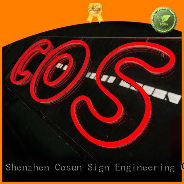 COSUN Top custom signs for business for decoration
