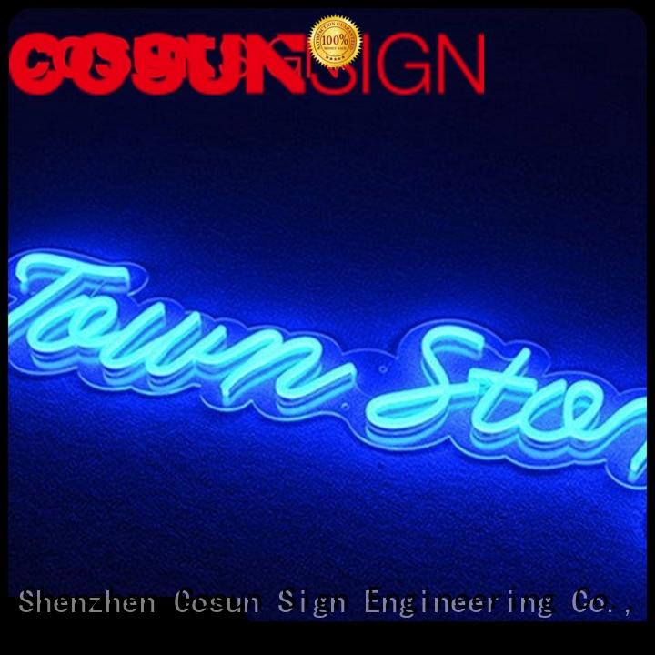 COSUN hot-sale neon words for sale for business for promotion