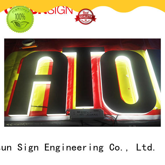 COSUN Latest acrylic vertical wall mount sign holder for pub club