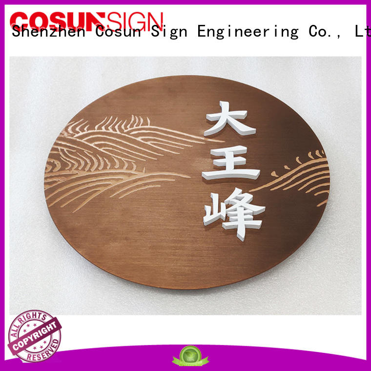 hot-sale door signs for wholesale for shop