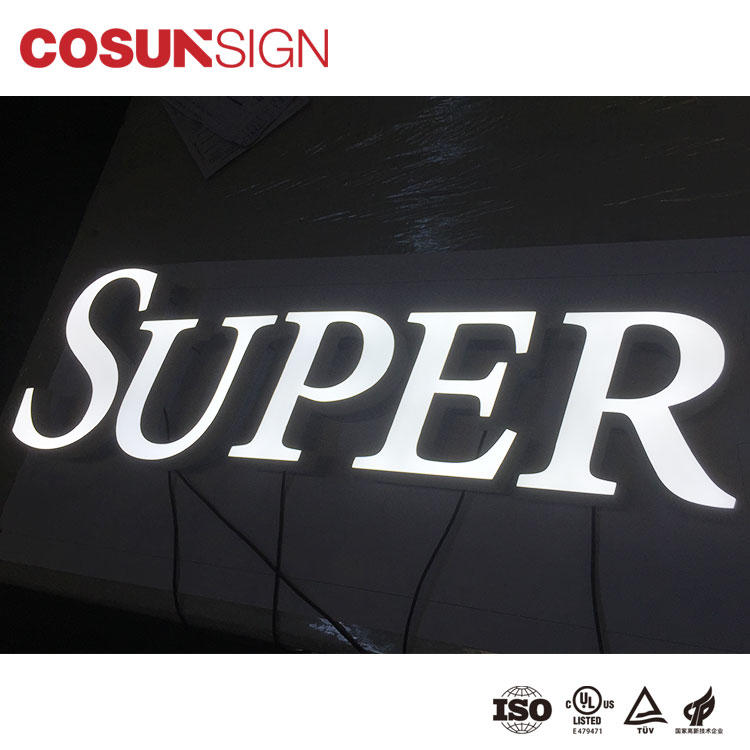 Custom wholesale acrylic signs led base Supply for restaurant-1