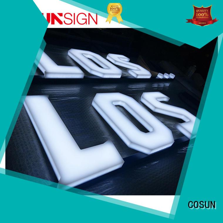 COSUN Wholesale durable sign holders for pub club