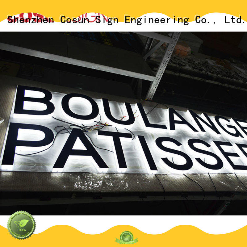 Top acrylic house signs online cheapest price free sample for pub club