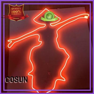 COSUN eye-catching custom neon signs for sale for business