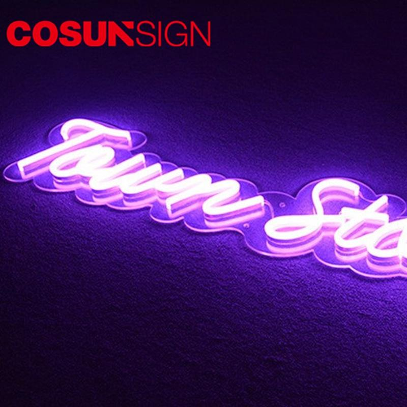 Latest large neon signs for sale popular Suppliers for warning-1