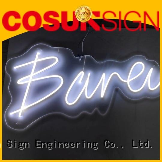 COSUN Latest neon glow signs for business for hotel